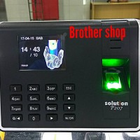 Mesin absensi sidik jari fingerprint SOLUTION P207