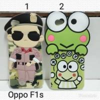 Silicon Softcase 3D Song Joong Ki Oppo F1s A59 / Case Keropi Oppo F1s