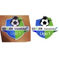 patch gojek traveloka liga 1 2017 / 2018 polyflex printing
