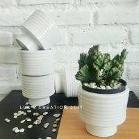 pot keramik - pot tanaman - pot kaktus - pot succulent
