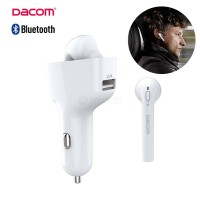 Dacom GF7 2 in 1 Car Kit usb charger and Bluetooth V4.2 Headset Dock