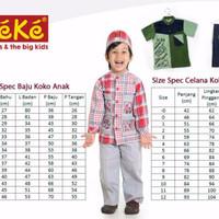 Promo Ramadhan Baju Keke KK 336 Koko Anak Katun Lucu Branded Terjangka
