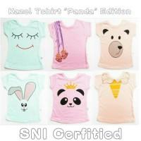 Jual Baju baby KAZEL T-SHIRT PANDA (SNI) 1 BOX ISI 6PCS Murah