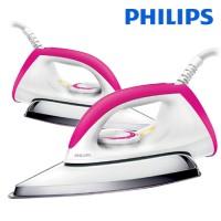 harga Setrika Philips Dry Iron Hd 1173 / Hd1173 Pink Merah Muda Tokopedia.com