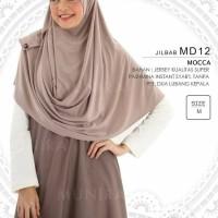 Jilbab/Hijab/Pashmina Syari Munira MD 12 Size M - Mocca
