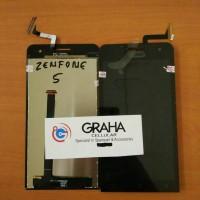 lcd asus zenfone 5 / t00j / t00k fullset touchscreen original