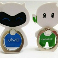I-RING stand HP bentuk maskot Oppo dan Vivo