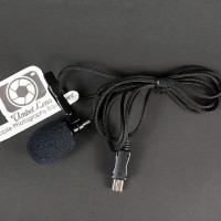 Lavalier External Microphone with Clip for GoPro Hero 3 / 3+ / 4