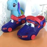 harga Sepatu Sendal Cars Lampu Tokopedia.com