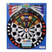 Jual Dart Game Amusive 13 x 13 Set With 6 Darts and Board Dart Board Murah