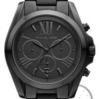 Jam Tangan Wanita Michael Kors MK5550 Bradshaw Chronograph Black