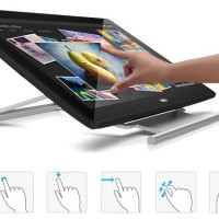 LCD Monitor Touch Screen LED DELL P2314T Profesional 23 inch - Resmi