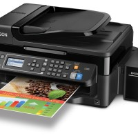 Printer Epson L565 All In One Print, Scan, Copy, Fax, ADF, WiFi Infus