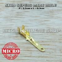 harga Skun Gepeng Cowok Male Kecil / Soket Motor / Skun Motor /skun Kabel Tokopedia.com