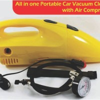 harga 2 In 1 Tire Inflator Pump Air Compressor Portable Car Vacuum Cleaner Tokopedia.com