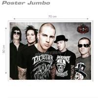 Poster AVENGED SEVENFOLD #45 - Jumbo size 50 x 70 cm
