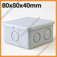 Junction Box 80x80x40 Mm Legrand IP44 JB331 PVC Link Outdoor Duradus