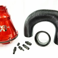 Open Filter Udara K&N Apollo Air Intake - Red