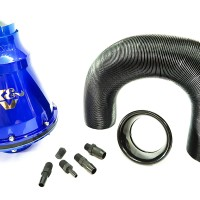 Open Filter Udara K&N Apollo Air Intake - Blue