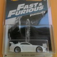 hot wheels fast & furious 2017 94 toyota supra putih