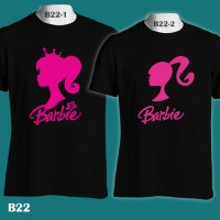 harga Barbie Fashion Doll Silhouetee | B22 | Kaos Couple | Family T-shirt Tokopedia.com