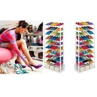 harga Rak Sepatu Multiguna Muat 30 Pasang Amazing Shoe Rack Tokopedia.com