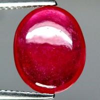 Jual rb01 batu natural ruby pigeon blood merah delima 7.17ct plus memo Murah