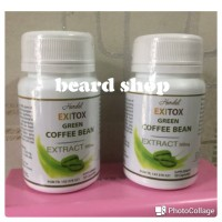 Hendel EXITOX Green Coffee Bean | Green Coffe Cofee Kopi Hijau