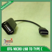 OTG CABLE KABEL TYPE C USB HUB for SAMSUNG XIAOMI ASUS (ON THE GO)