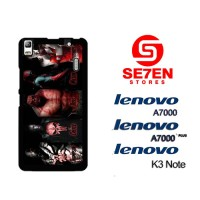 Casing HP Lenovo A7000, A7000 Plus, K3 Note Captain America Civil War