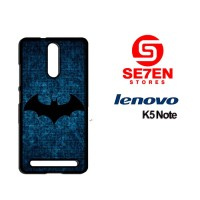 Casing HP Lenovo K5 Note batman circuitry wall Custom Hardcase Cover