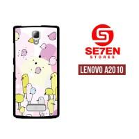 Casing HP Lenovo A2010 Cartoon background 2 Custom Hardcase Cover