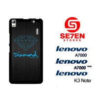 Casing HP Lenovo A7000, A7000 Plus, K3 Note Blue Diamond Supply Custom