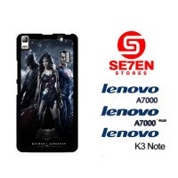 Casing HP Lenovo A7000, A7000 Plus, K3 Note batman v superman 2 Custom