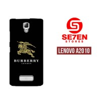Casing HP Lenovo A2010 burberry logo Custom Hardcase Cover