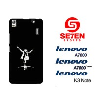 Casing HP Lenovo A7000, A7000 Plus, K3 Note Black Custom Hardcase Cove
