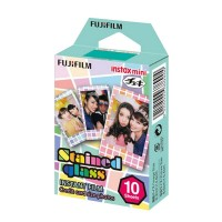 FUJIFILM Instax Refill Color Film Single Stained Glass