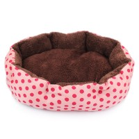 Jual Tempat Tidur Kasur Ukuran Besar Bed Kucing Anjing Doggy Puppy Polkadot Murah