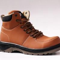 harga Sepatu Boot Pria Nike Acg Brown Safety Ujung Besi Tracking Hiking Pria Tokopedia.com