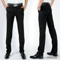 Jual Celana Panjang Formal Slim Fit pria/Size 27-38/Kantor/kerja Murah