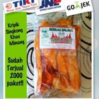 Jual Kripik Sanjai / Singkong balado pedas manis (halal dan vegan) Murah