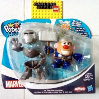 PLAYSKOOL Mr Potato Head THOR and IRON MAN Original Hasbro