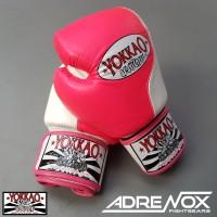 Jual Yokkao Boxing Glove - Double Impact - Pink - 10 oz - Sarung Tinju Murah