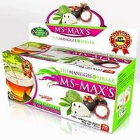 Jual SPECIAL SALE Teh Celup Kulit Manggis Plus Daun Sirsak MS MAX'S / MS MA Murah