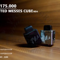 RDA TWISSTED MESSES CUBE / AUTOMIZER VAPE