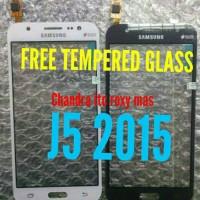 TOUCHSCREEN / TS SAMSUNG J5 J500 J5 2015 free tempered glass