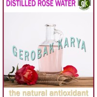 Destilled Rose Water | Hydrosol | Air Mawar Suling | 100 ml
