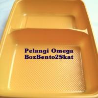 Box Bento 2 Skat warna Kuning