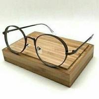 kacamata korea bulat free lensa