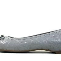 Armani Jeans ballet patent logo flat Shoes Sepatu Dg original